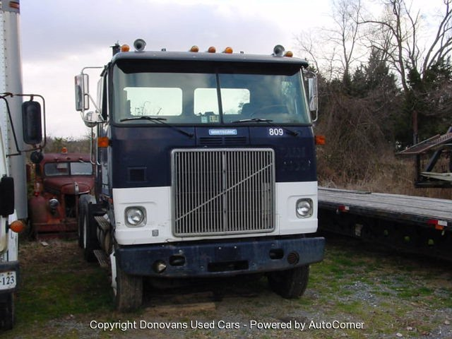 1991 WHITE GMC Cabover