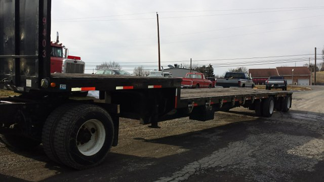 "1994 Fontaine 48' 102"" Drop Deck Flatbed"